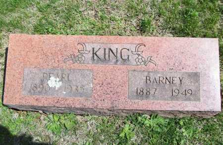 KING, BARNEY - Benton County, Arkansas | BARNEY KING - Arkansas Gravestone Photos