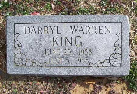 KING, DARRYL WARREN - Benton County, Arkansas | DARRYL WARREN KING - Arkansas Gravestone Photos