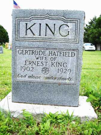 KING, GERTRUDE - Benton County, Arkansas | GERTRUDE KING - Arkansas Gravestone Photos