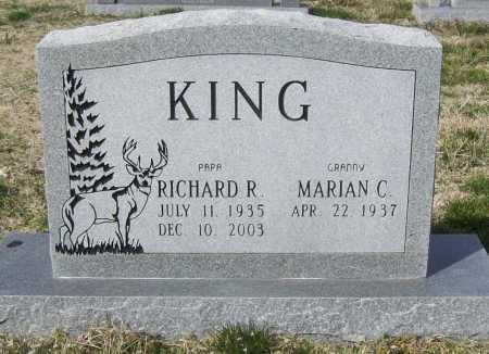 KING, RICHARD R. - Benton County, Arkansas | RICHARD R. KING - Arkansas Gravestone Photos