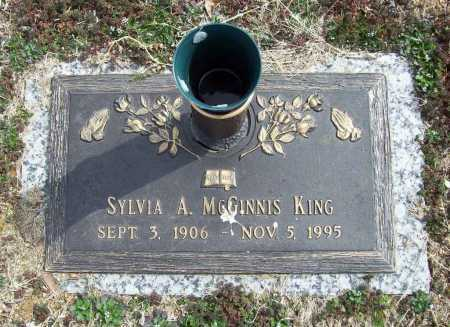 MCGINNIS KING, SYLVIA ANN - Benton County, Arkansas | SYLVIA ANN MCGINNIS KING - Arkansas Gravestone Photos