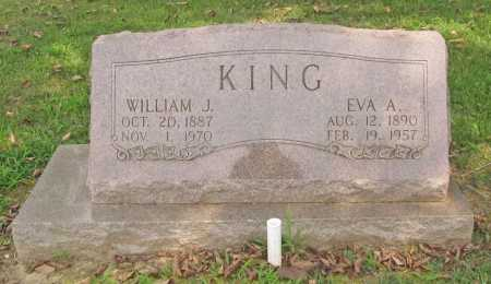 KING, EVA A. - Benton County, Arkansas | EVA A. KING - Arkansas Gravestone Photos