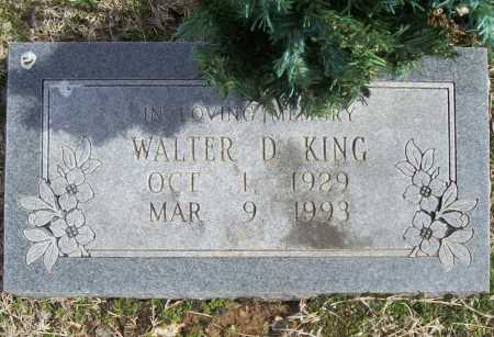 KING (VETERAN KOR), WALTER DENETRI - Benton County, Arkansas | WALTER DENETRI KING (VETERAN KOR) - Arkansas Gravestone Photos