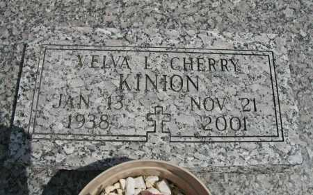 CHERRY KINION, VELVA L. - Benton County, Arkansas | VELVA L. CHERRY KINION - Arkansas Gravestone Photos