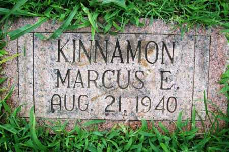 KINNAMON, MARCUS E. - Benton County, Arkansas | MARCUS E. KINNAMON - Arkansas Gravestone Photos