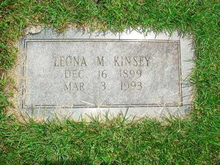KINSEY, LEONA M. - Benton County, Arkansas | LEONA M. KINSEY - Arkansas Gravestone Photos