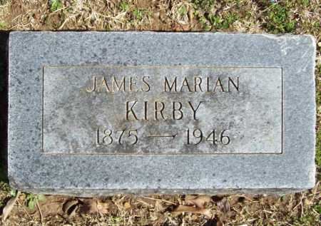 KIRBY, JAMES MARIAN - Benton County, Arkansas | JAMES MARIAN KIRBY - Arkansas Gravestone Photos
