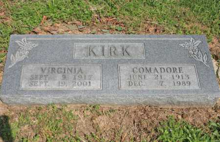 KIRK, COMADORE - Benton County, Arkansas | COMADORE KIRK - Arkansas Gravestone Photos