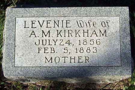 KIRKHAM, LEVENIE - Benton County, Arkansas | LEVENIE KIRKHAM - Arkansas Gravestone Photos