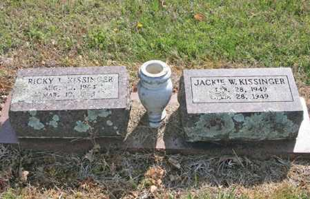 KISSINGER, JACKIE W. - Benton County, Arkansas | JACKIE W. KISSINGER - Arkansas Gravestone Photos