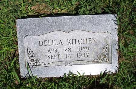 KITCHEN, DELILA - Benton County, Arkansas | DELILA KITCHEN - Arkansas Gravestone Photos