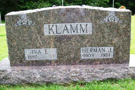 KLAMM, HERMAN J. - Benton County, Arkansas | HERMAN J. KLAMM - Arkansas Gravestone Photos