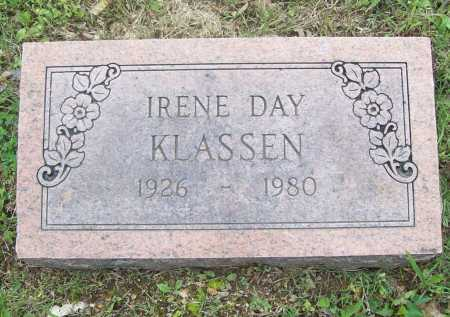 DAY KLASSEN, IRENE - Benton County, Arkansas | IRENE DAY KLASSEN - Arkansas Gravestone Photos