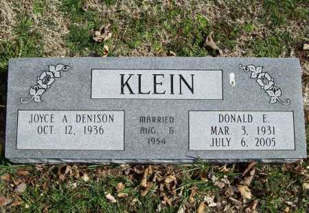 KLEIN, DONALD EUGENE - Benton County, Arkansas | DONALD EUGENE KLEIN - Arkansas Gravestone Photos