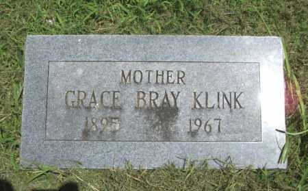 BRAY KLINK, GRACE - Benton County, Arkansas | GRACE BRAY KLINK - Arkansas Gravestone Photos