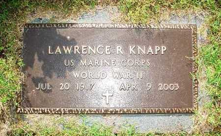 KNAPP (VETERAN WWII), LAWRENCE R. - Benton County, Arkansas | LAWRENCE R. KNAPP (VETERAN WWII) - Arkansas Gravestone Photos