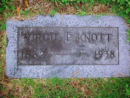 KNOTT, VIRGIL P. - Benton County, Arkansas | VIRGIL P. KNOTT - Arkansas Gravestone Photos
