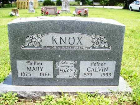 KNOX, CALVIN - Benton County, Arkansas | CALVIN KNOX - Arkansas Gravestone Photos