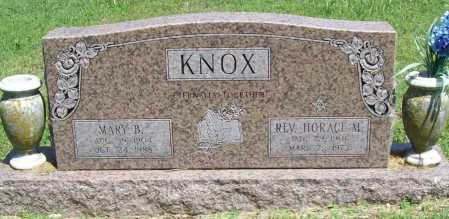 KNOX, HORACE MONROE, REV. - Benton County, Arkansas | HORACE MONROE, REV. KNOX - Arkansas Gravestone Photos