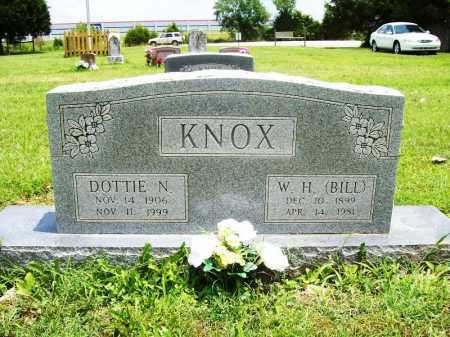 KNOX, W. H. (BILL) - Benton County, Arkansas | W. H. (BILL) KNOX - Arkansas Gravestone Photos