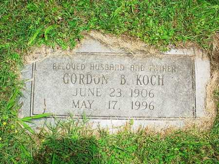 KOCH, GORDON B. - Benton County, Arkansas | GORDON B. KOCH - Arkansas Gravestone Photos