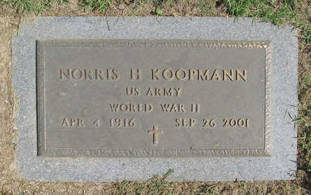KOOPMANN (VETERAN WWII), NORRIS H - Benton County, Arkansas | NORRIS H KOOPMANN (VETERAN WWII) - Arkansas Gravestone Photos