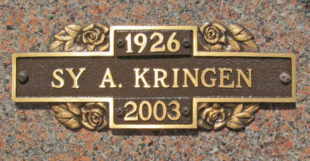 KRINGEN, SY A. - Benton County, Arkansas | SY A. KRINGEN - Arkansas Gravestone Photos