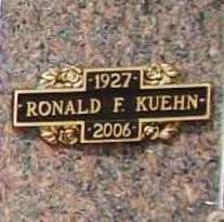 KUEHN (VETERAN WWII), RONALD F - Benton County, Arkansas | RONALD F KUEHN (VETERAN WWII) - Arkansas Gravestone Photos