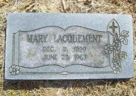LACQUEMENT, MARY - Benton County, Arkansas | MARY LACQUEMENT - Arkansas Gravestone Photos