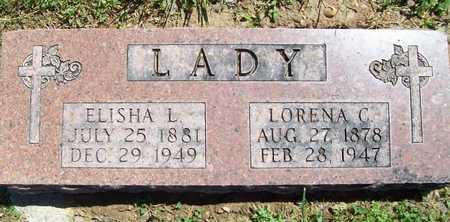 LADY, ELISHA L - Benton County, Arkansas | ELISHA L LADY - Arkansas Gravestone Photos