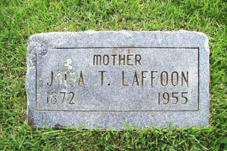 LAFFOON, JULIA T. - Benton County, Arkansas | JULIA T. LAFFOON - Arkansas Gravestone Photos