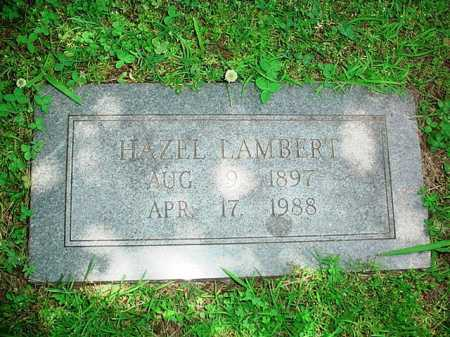 LAMBERT, HAZEL - Benton County, Arkansas | HAZEL LAMBERT - Arkansas Gravestone Photos
