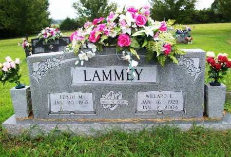 LAMMEY, WILLARD EARL - Benton County, Arkansas | WILLARD EARL LAMMEY - Arkansas Gravestone Photos