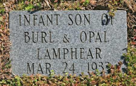 LAMPHEAR, INFANT SON - Benton County, Arkansas | INFANT SON LAMPHEAR - Arkansas Gravestone Photos
