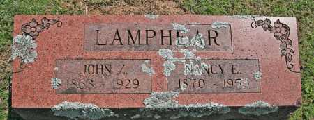 LAMPHEAR, NANCY E. - Benton County, Arkansas | NANCY E. LAMPHEAR - Arkansas Gravestone Photos