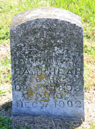 LAMPHEAR, MARY A. - Benton County, Arkansas | MARY A. LAMPHEAR - Arkansas Gravestone Photos
