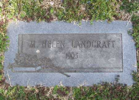 LANDCRAFT, M. HELEN - Benton County, Arkansas | M. HELEN LANDCRAFT - Arkansas Gravestone Photos