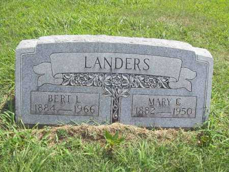 LANDERS, MARY  C - Benton County, Arkansas | MARY  C LANDERS - Arkansas Gravestone Photos