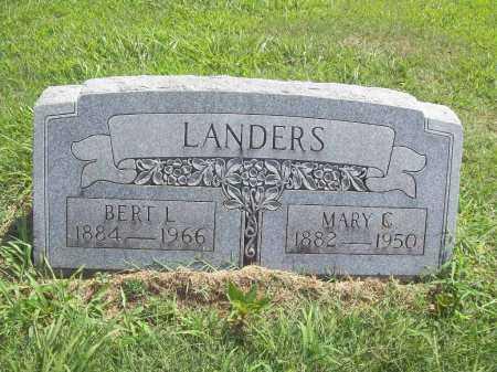 LANDERS, BERT L - Benton County, Arkansas | BERT L LANDERS - Arkansas Gravestone Photos