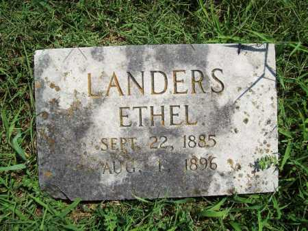 LANDERS, ETHEL - Benton County, Arkansas | ETHEL LANDERS - Arkansas Gravestone Photos