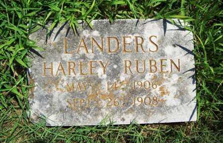 LANDERS, HARLEY RUBEN - Benton County, Arkansas | HARLEY RUBEN LANDERS - Arkansas Gravestone Photos
