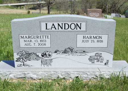 RHOTEN LANDON, MARGURETTE - Benton County, Arkansas | MARGURETTE RHOTEN LANDON - Arkansas Gravestone Photos
