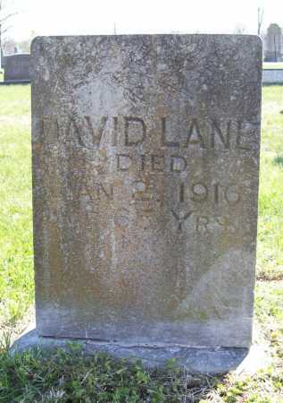 LANE, DAVID - Benton County, Arkansas | DAVID LANE - Arkansas Gravestone Photos