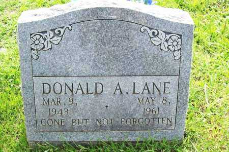 LANE, DONALD A. - Benton County, Arkansas | DONALD A. LANE - Arkansas Gravestone Photos