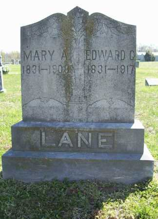 LANE, EDWARD G. - Benton County, Arkansas | EDWARD G. LANE - Arkansas Gravestone Photos