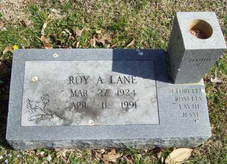 LANE, ROY A. - Benton County, Arkansas | ROY A. LANE - Arkansas Gravestone Photos