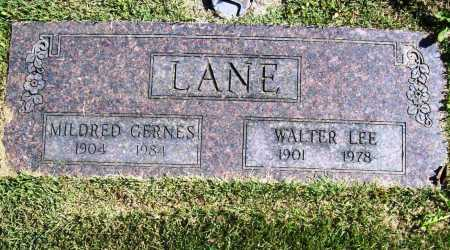 LANE, WALTER LEE - Benton County, Arkansas | WALTER LEE LANE - Arkansas Gravestone Photos