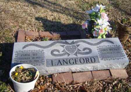 LANGFORD, CAROL SUE - Benton County, Arkansas | CAROL SUE LANGFORD - Arkansas Gravestone Photos