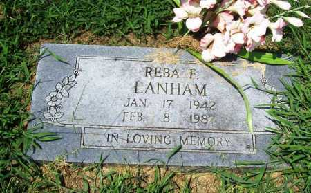 LANHAM, REBA F. - Benton County, Arkansas | REBA F. LANHAM - Arkansas Gravestone Photos