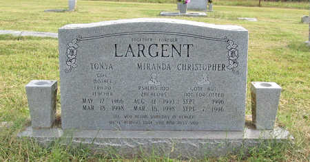 LARGENT, MIRANDA - Benton County, Arkansas | MIRANDA LARGENT - Arkansas Gravestone Photos